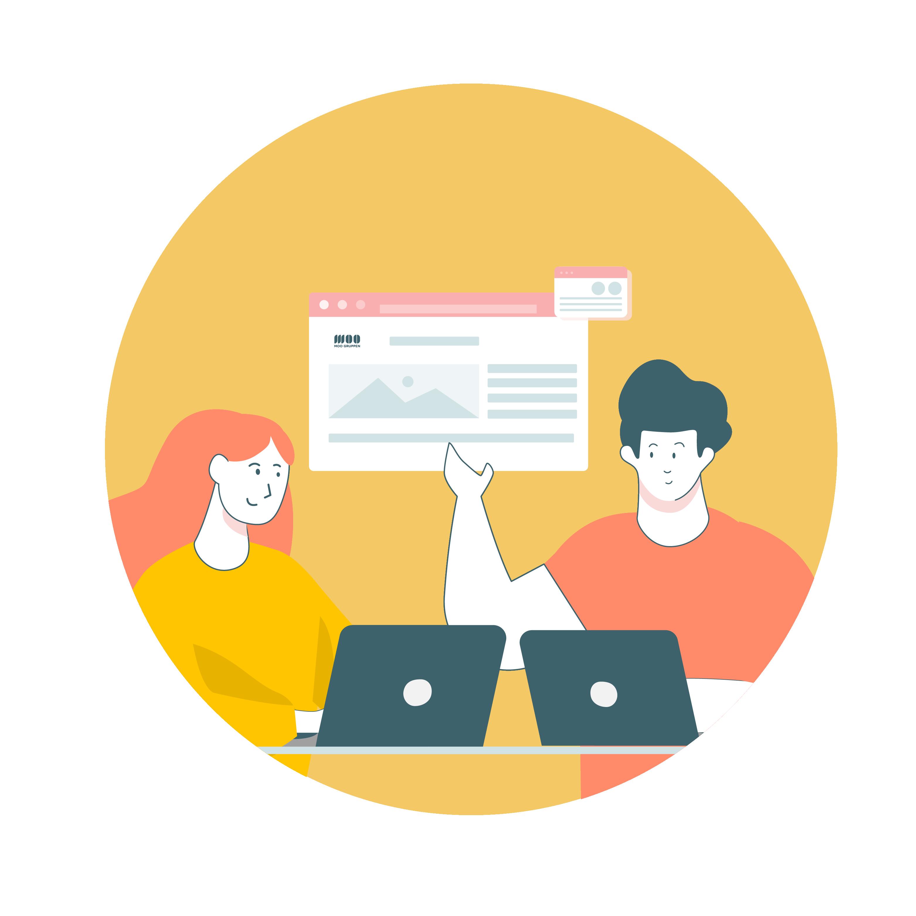 webdesign og funksjoner
