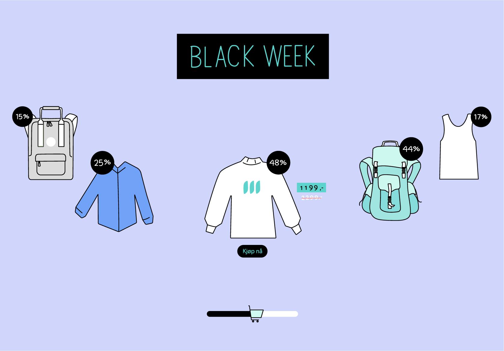 lykkes med black friday salg for nettbutikk