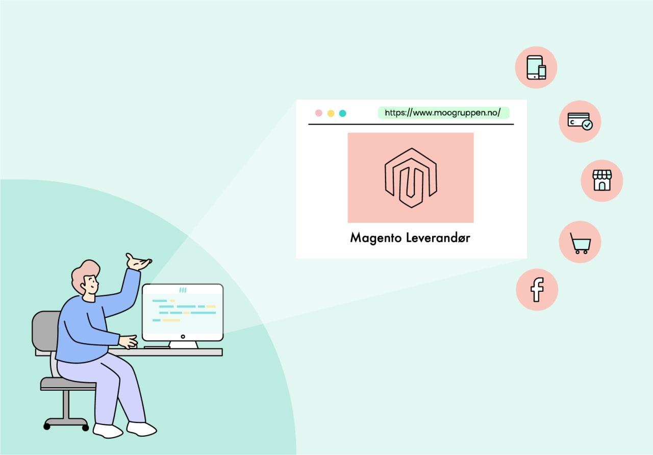 Moogruppen norsk Magento leverandør
