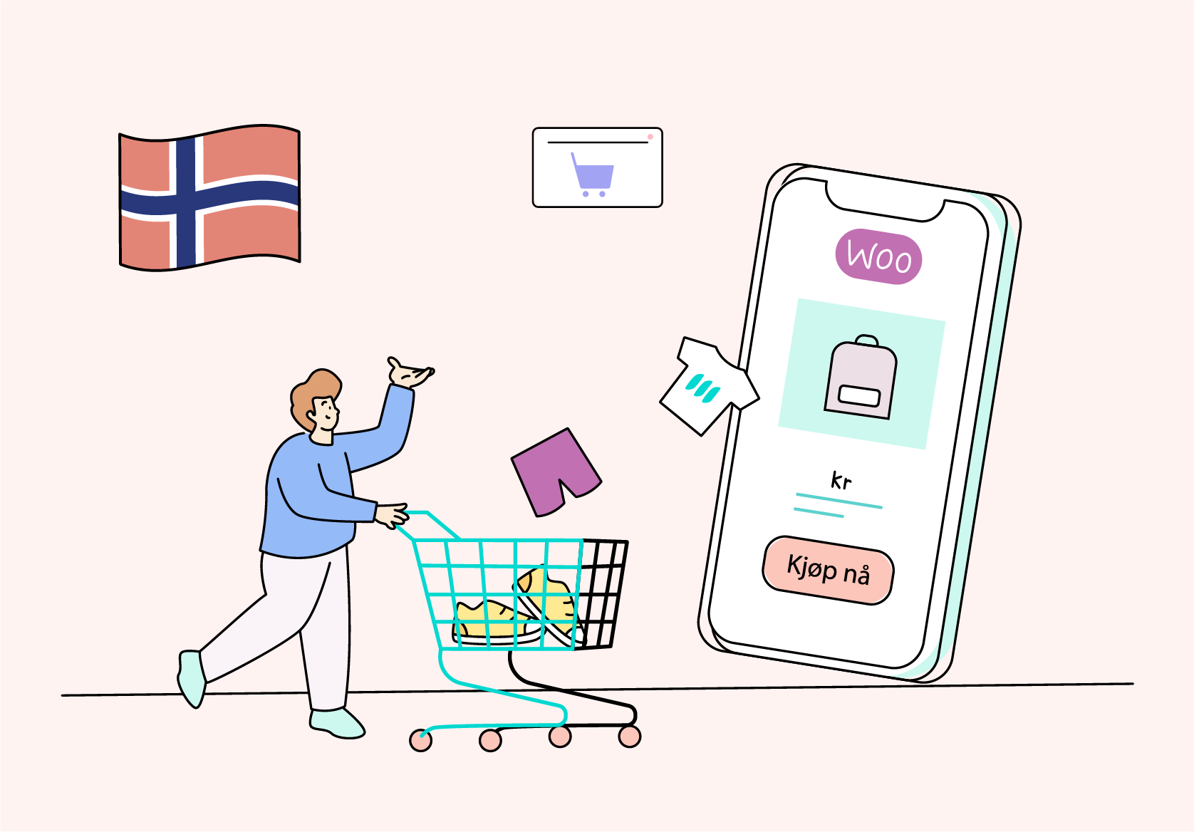 norsk woocommerce leverandør