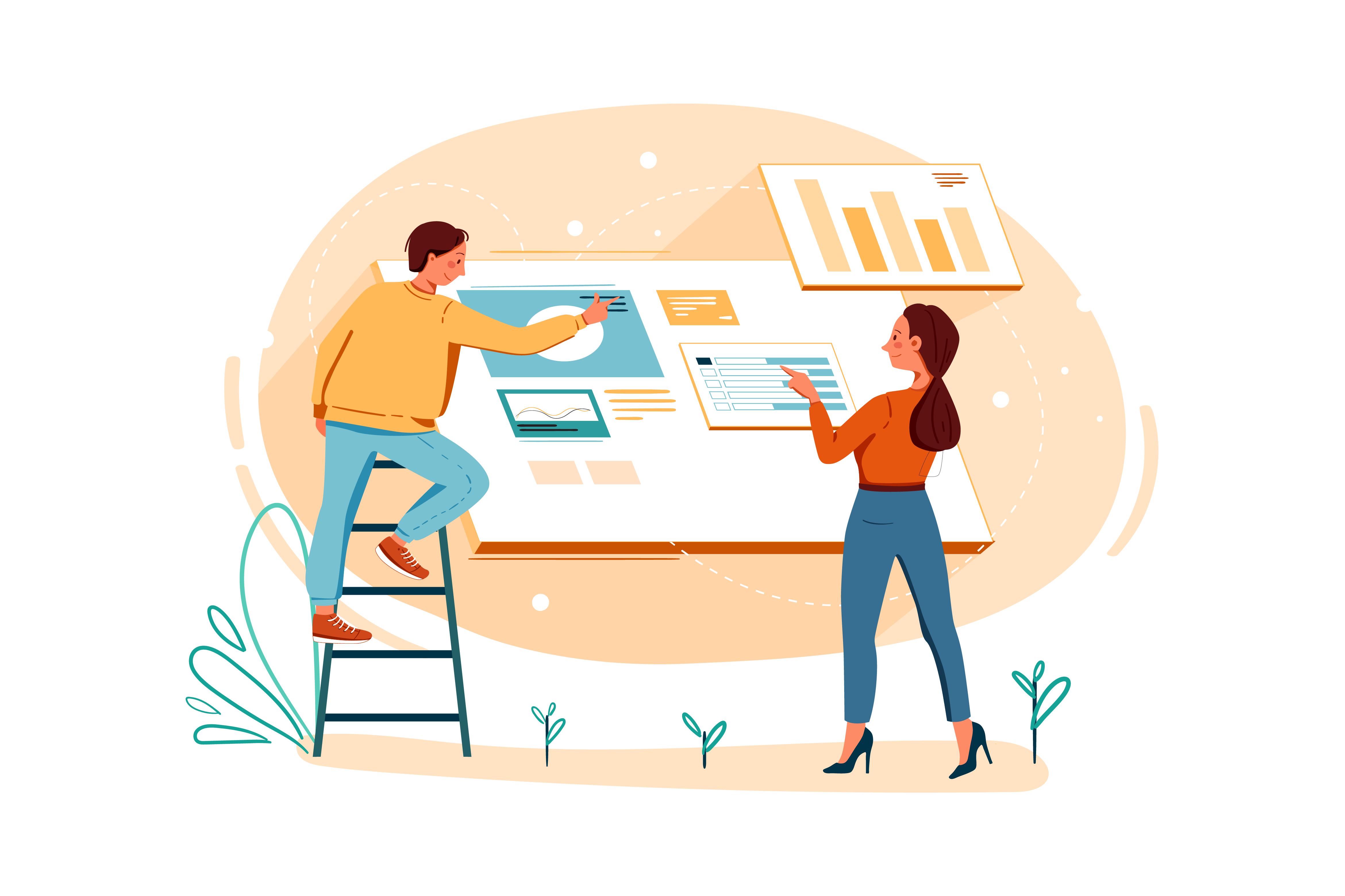 utvikle nettside design