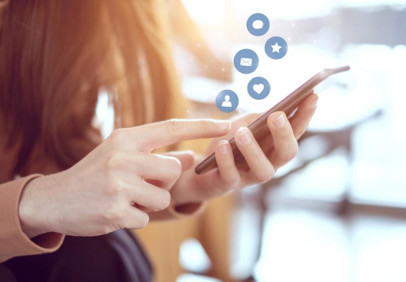 B2B markedsføring- sosiale medier