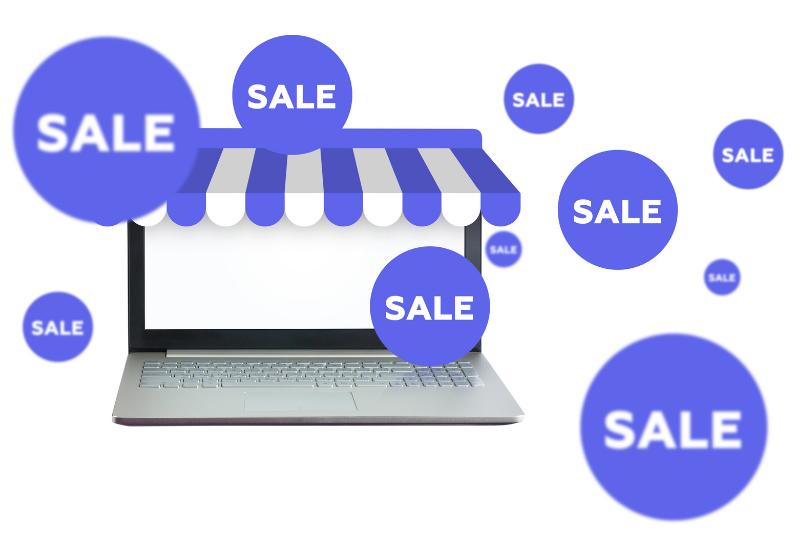 Netthandel salg, rabatter og tilbud