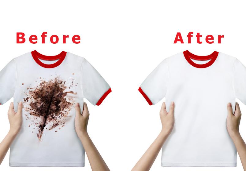 før og etter, blogginnlegg av produkter